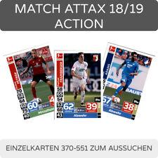 Topps Match Attax 18/19 ACTION Trading Cards Einzelkarten 370-551 zum aussuchen