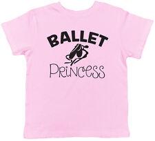 Ballet Princess Girls Childrens Kids Tee T-Shirt
