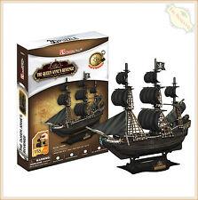 3D Paper Jigsaw Puzzle New Cubicfun Model Kit Ships Vessels Pirate Gift Kid DIY