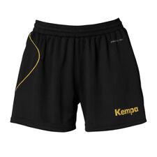 KEMPA courbe culottes courtes court femme, noir dorée F05
