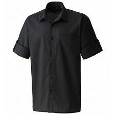 "Premier - Camisa lisa de manga corta de caballero/hombre Diseño ""Mangas (RW1083)"