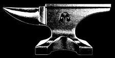 Black Anvil Shirt (Vintage Retro Industrielle Schmied ACME Cartoon Eisen Stahl)