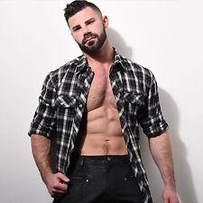 Nasty Pig Men's Lithium Flannel Shirt Black/White