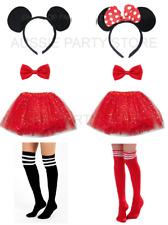 Disney Mickey Mouse Minnie Mouse Costume Tutu Headband Socks Bow Tie Book week