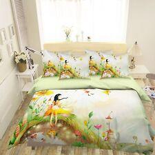 3D Yellow Girl 6 Bed Pillowcases Quilt Duvet Cover Set Single Queen King AU Cobb