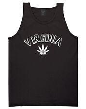 Marijuana Weed Virginia USA State VA Tank Top T-Shirt