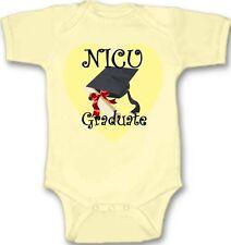 NICU Graduate Premie Baby Bodysuit Creeper New Adorable Gift