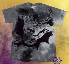 New DC Comic Batman Tie Dye Vintage Classic Mens T-Shirt