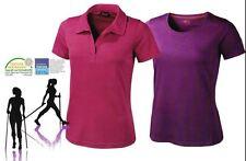 (Z) Crivit Damen Funktionsshirt Kragenshirt Poloshirt Rundhals Shirt T-Shirt