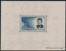 "MONACO BLOC SPECIAL N° 8 ""J.F. KENNEDY ET CAPSULE MERCURY 1964 "" NEUF xx TTB"
