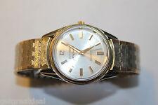 VINTAGE Bulova H6119230 Jewels Selfwinding 14K BEZEL Yellow Gold Men's Watch
