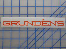 "Grundens Decal Sticker 7.5"" 11"" 18"" 23.5"" Bibs Jacket Foul Weather Rain Pants"