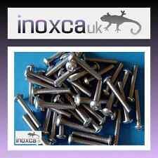 50 m5 x 30 Bottoni Testa Allen Bullone a2 -70 in acciaio inox 304 HEX Esagonale Presa