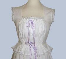 Ladies Victorian / Edwardian camisole corset cover costume fancy dress
