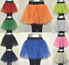 Neu Tütü Tutu Ballettrock Tüllrock XS - XXL  Petticoat Ballettkleid Rock Ballett