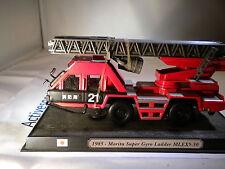 Del Prado World Fire Engines - JAPAN 1985 Morita gyro ladder MLEX5-3 code89