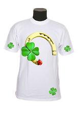 Tee-shirt adulte porte bonheur  du S au 2XL personnalisable avec prénom réf 25