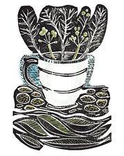 Amanda Colville Canvas Art Prints Graphic Design Large Range of Images Linocut