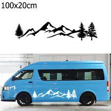 Waterproof Camper  SUV RV  PET Car Decor Tree Mountain Auto Decal Car Sticker