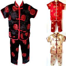 Kinder Asia Kung-Fu,Tai-Chi, Wu Shu, China/Japan Shaolin China-Anzug Gr.80-158