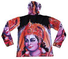 WoW Lord RAMA Hindu Gott Goa Beach Party DJ Tattoo Design Art Hoodie T-Shirt M