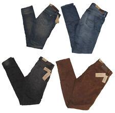 Ralph Lauren Denim & Supply Womens Slim Skinny Distressed Low Denim Jeans New