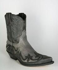 8983 Sendra Antracita Kurz-Cowboystiefel Grau
