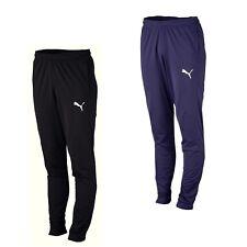 Puma Sporthose Trainingshose Jogginghose Herren lang schwarz o blau mit Taschen