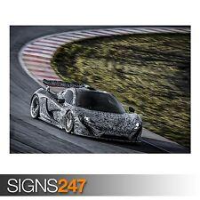 McLaren P1 Coche (AA866) cartel de auto-foto imagen arte cartel impresión A0 a A4