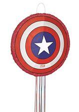 MARVEL Avengers Assemble Capitán America Escudo 3d Fiesta Piñata GAME