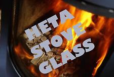 HETA REPLACEMENT STOVE GLASS KOSI, SCANLINE, TR 2, TR 5, TR 8 - SCHOTT ROBAX