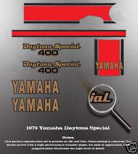 YAMAHA 1979 RD400 DAYTONA DECAL GRAPHIC KIT LIKE NOS