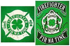 FREE SHIPPING!!! $15 each! St. Patty's Firefighter T-shirt. Fir Na Tine.