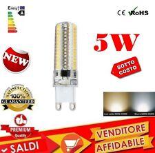 LAMPADA LED G9 5W 220V SMD LUCE CALDA FREDDA LAMPADINA ATTACCO G 9 220 V 5 W