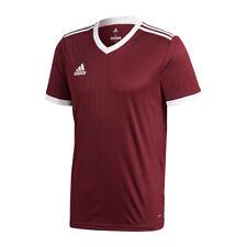 Adidas Tabela 18 Maillot manches courtes rouge foncé blanc