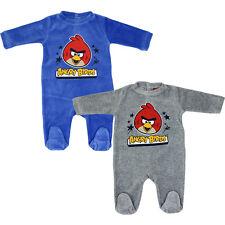 ♥Süß Baby Strampler Angry Birds Schlafanzug Gr.62-92 Neu♥