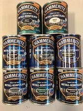(18,19€ /1L) Hammerite Schutzlack Matt Glänzend Hammerschlag ver. Farben 750 ML