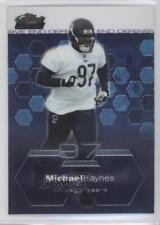 2003 Topps Finest #92 Michael Haynes Chicago Bears Football Card