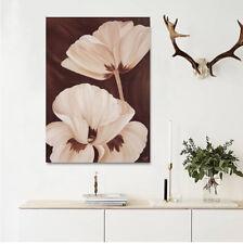 3D White Petal Flower Wall Stickers Vinyl Wall Murals Print Decal Art AJSTORE CA