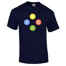 Contrôleur XBOX 360 boutons symboles x y B un joueur de jeu jeu vidéo S-5XL