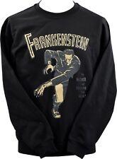 Unisex Sudadera Frankenstein Monster Vintage Horror Cartel bmovie Goth XS-7XL
