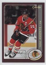 2002-03 O-Pee-Chee Factory Set #9 Tony Amonte Chicago Blackhawks Hockey Card