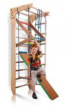 Spalliera Arrampicata Attrezzature sportive per bambini Parete palestra  220x80