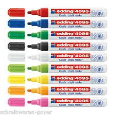 Kreidemarker Edding 4095 Windowmarker 2-3mm  Flüssigkreide Kreide Farben wählbar