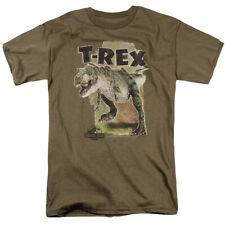 Jurassic Park Movie Tyrannosaurus T-Rex Pursuit Chase Tee Shirt Adult S-3XL