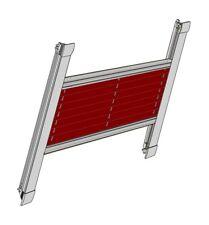 PLISSEE KDE Aluminium Thermoblocker Hitzeschutz Blendschutz HighTech für Roto