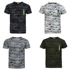 enfants camouflage imprimé à pois t-shirt manche courte soldat armée