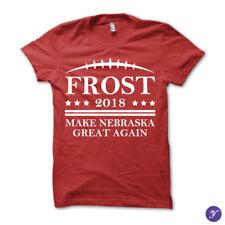 Make Nebraska Great Again tshirt - scott frost 2018 huskers cornhuskers football