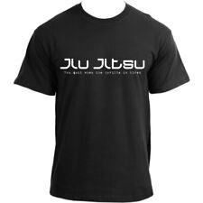 Brazilian Jiu Jitsu tshirt 'You quit when the gorilla is tired' MMA UFC BJJ T...