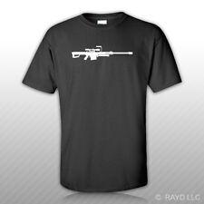 Barrett 50 Cal T-Shirt Tee Shirt Gildan S M L XL 2XL 3XL Cotton M82a1 Sniper